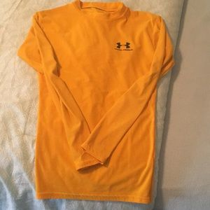 Gold Under Armour Top